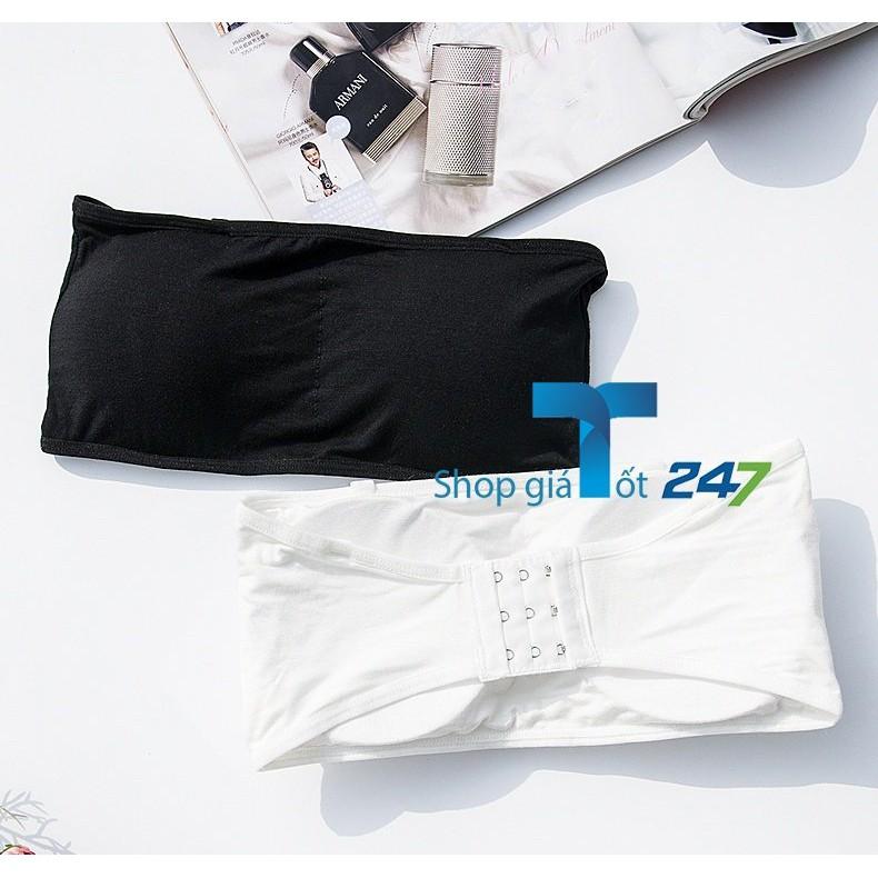 COmbo 2 áo ống cài sau cotton BASIC 619