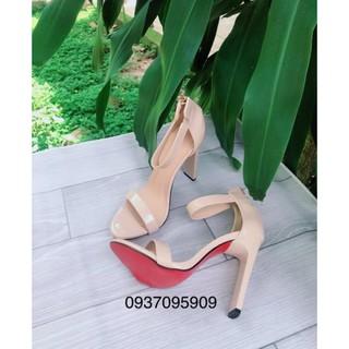 ( Hình Thật ) Sandan Cao Gót Vuông 11P - VNXK Cao Cấp - Full Size 34-40