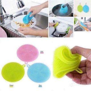 Miếng rửa bát silicon đa năng - hình 3