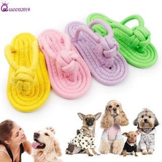 Ready Pet Dog Toy Chew Doggy Cotton Toy Plush Slipper Rope Dog Teeth Training Toy Queen