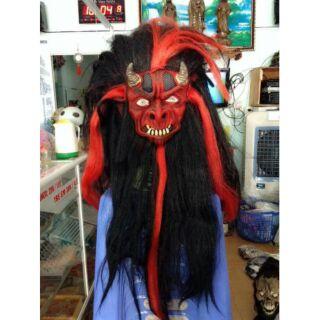 Mặt nạ hóa trang Quỷ tóc dài nhiều mẫu