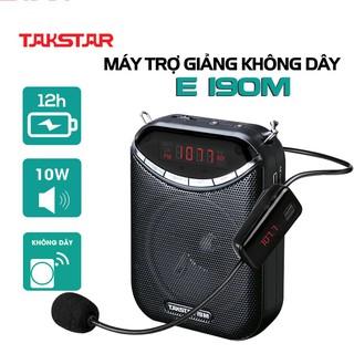 Chính hãng Takstar E190M Loa mic máy trợ giảng cao cấp không dây, FM, Giáo viên, hướng dẫn viên, bán hàng thumbnail