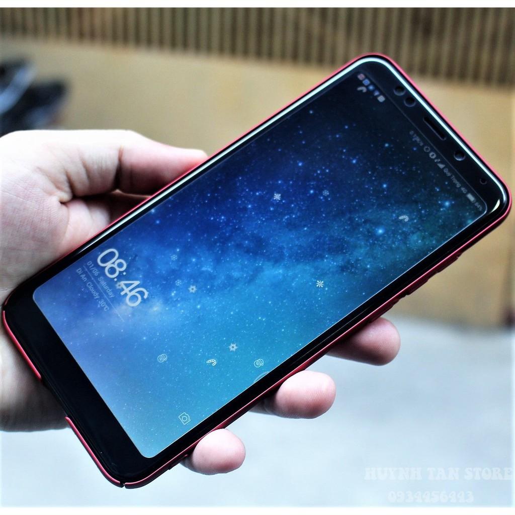 Xiaomi Redmi 5 Plus _ Cường lực Full Màn Viền Dẻo 3D keo toàn màn hình, không chấm liti, không loang