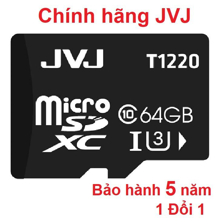 Thẻ nhớ microSDHC JVJ 64G C10