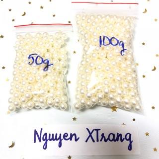 Trân châu ngọc trai trắng sỉ ( 50gram – 100 gram )
