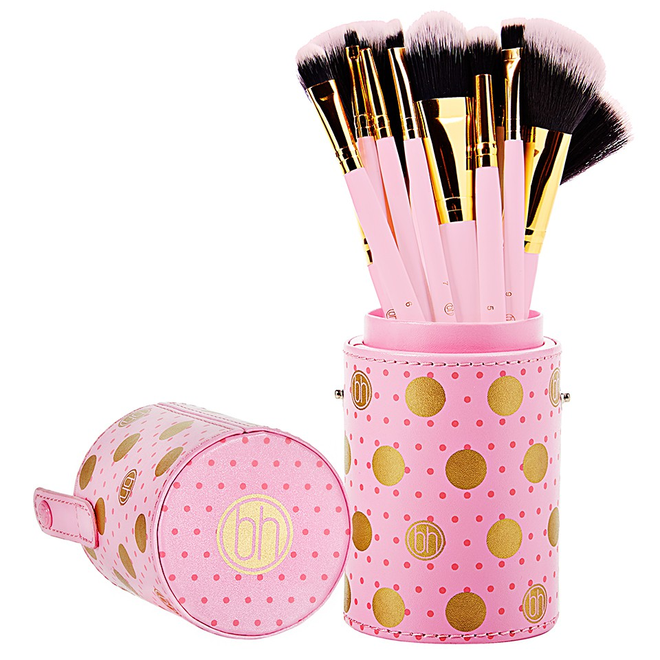 Bộ phấn mắt Bh cosmetic dot pink collection