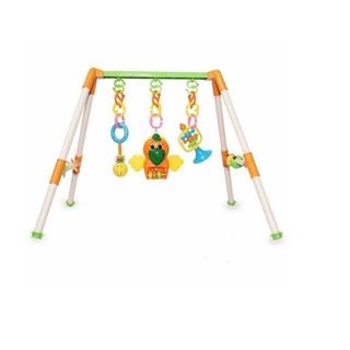 6E[P6068] Bộ đồ chơi giá đỡ treo cho em bé tập nhận biết màu sắc chơi đùa nâng cao trí thông minh AK80