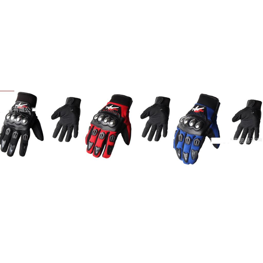 Găng tay phượt dài full  ngón gù inox Probiker