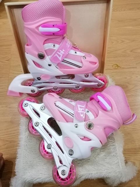 Giày patin chính hãng kakala màu hồng