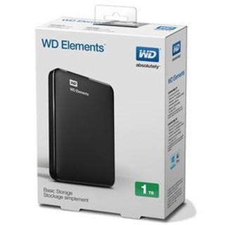 Ổ CỨNG DI ĐỘNG W.D ELEMENTS 1TB (ĐEN)