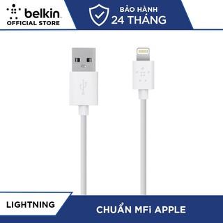 Cáp Sạc Lightning Belkin MIXIT↑™ F8J023bt2M MFi 2 Mét - Hàng Chính Hãng