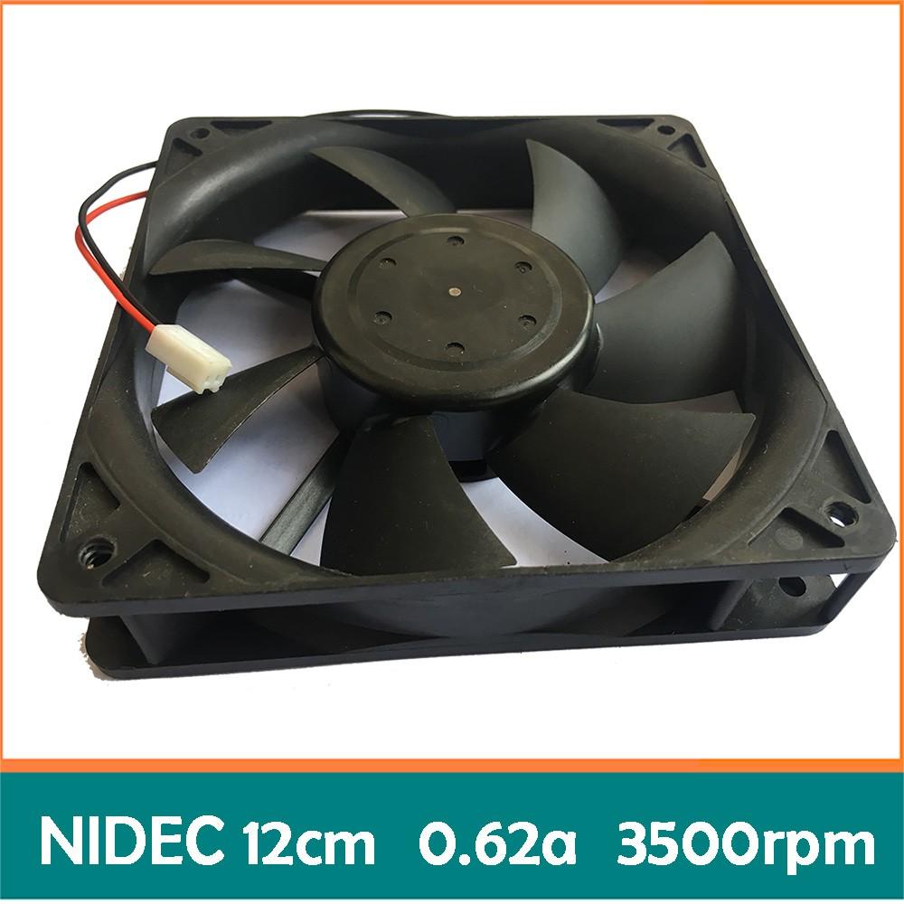 Quạt bi Nidec 12cm 0.62a bóc máy (Dual ball bearing - 2 vòng/ổ bi) fan tản nhiệt máy tính 12 - 3167208 , 436775444 , 322_436775444 , 72000 , Quat-bi-Nidec-12cm-0.62a-boc-may-Dual-ball-bearing-2-vong-o-bi-fan-tan-nhiet-may-tinh-12-322_436775444 , shopee.vn , Quạt bi Nidec 12cm 0.62a bóc máy (Dual ball bearing - 2 vòng/ổ bi) fan tản nhiệt