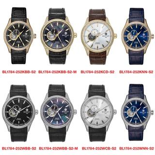 Đồng hồ nam dây da Bentley BL1784 BL1784-252 BL1784-252KBB-S2 chính hãng mặt kính chống xước thumbnail