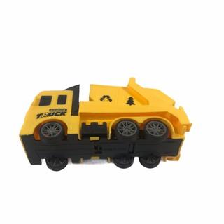 Đồ chơi xe ô tô tải dành cho bé size nhỏ cứng cáp có bánh đà mạnh mẽ, siêu ưu đãi 5