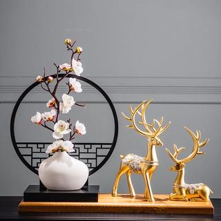 Đồ trang trí phòng trà cổ điển phong cách trung quốc mới phong cách Trung Quốc đồ trang trí phòng khách thumbnail