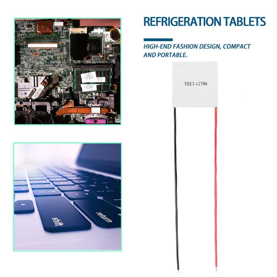 12V 60W TEC1-12706 Heatsink Thermoelectric Cooler Peltier Cooling Plate Module