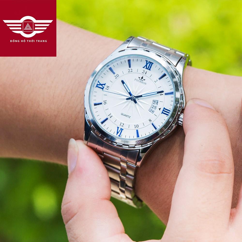[FULL MÀU] Đồng hồ nam FOURRON Japan DL688 dây hợp kim thép không gỉ đẳng cấp