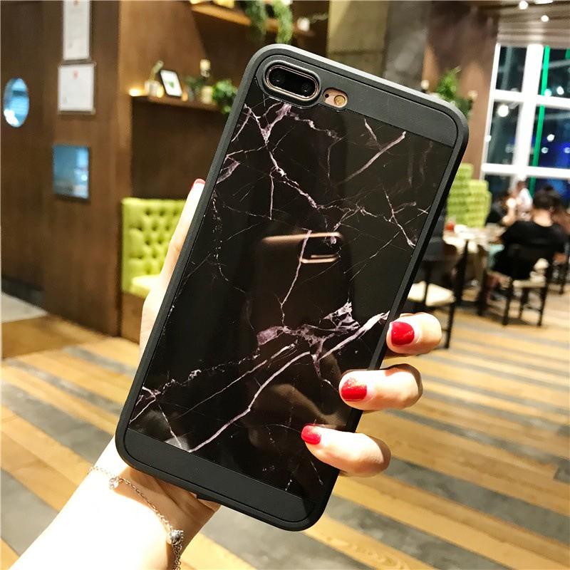 ốp vân đá đen cho iphone