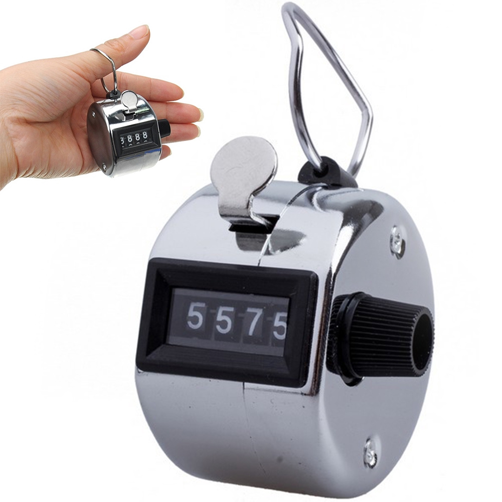 Portable hand held 4 digits accurate tally counter/clicker