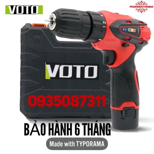 Máy Bắn Vít 12V VOTO Hộp Nhựa,2 Tốc,2 Pin,(Bảo Hành 6 Tháng) - 3006083 , 1214204035 , 322_1214204035 , 650000 , May-Ban-Vit-12V-VOTO-Hop-Nhua2-Toc2-PinBao-Hanh-6-Thang-322_1214204035 , shopee.vn , Máy Bắn Vít 12V VOTO Hộp Nhựa,2 Tốc,2 Pin,(Bảo Hành 6 Tháng)
