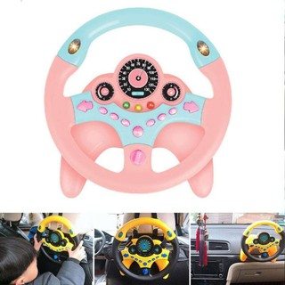 Đồ chơi vô lăng phát nhạc cho bé tập lái xe   Vô lăng đồ chơi cho bé