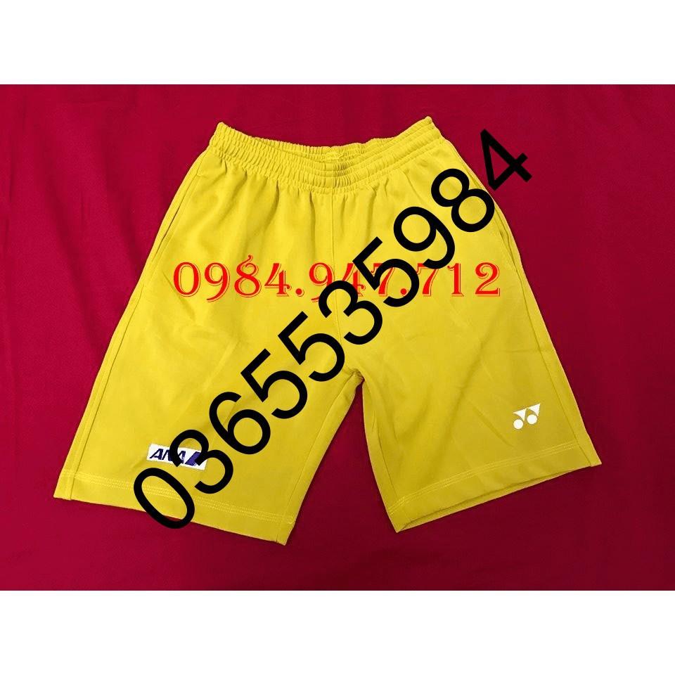 FREESHIP 99K TOÀN QUỐC Quần cầu lông Yonex ANA màu vàng 2019