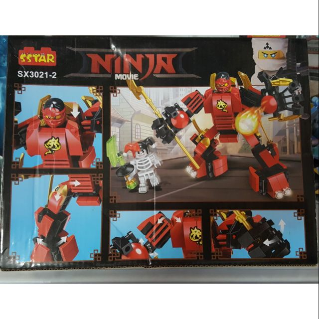 Bộ Lego xếp hình ninjago cho bé SX3021-2