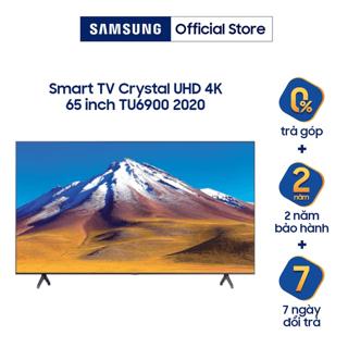 Smart Tivi Samsung Crystal UHD 4K 65 inch UA65TU6900KXXV-Model 2020- Miễn phí lắp đặt thumbnail
