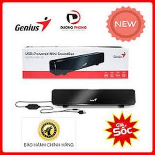 Loa Vi Tính ⚡Free Ship⚡ LOA GENIUS Soundbar 100 USB - Âm Thanh Trầm, Kiểu Dáng Đẹp -HÀNG CHÍNH HÃNG 100%