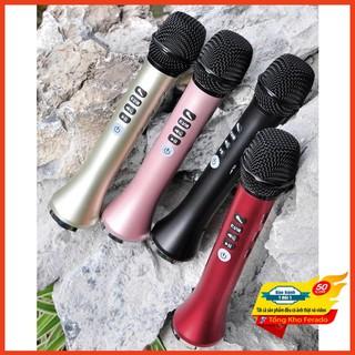 [ Siêu rẻ ] Micro Karaoke Bluetooth L-698