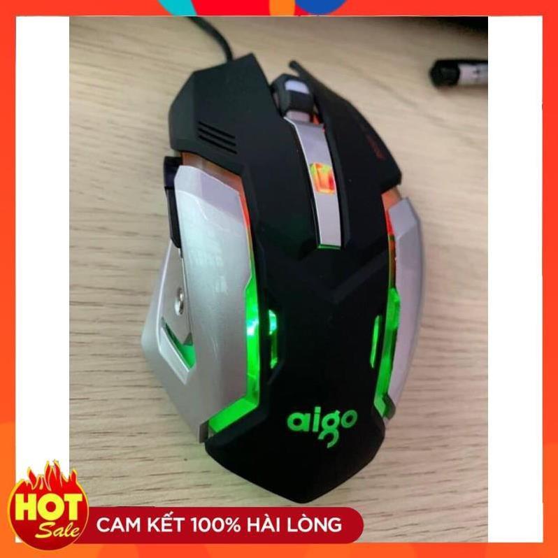 [Chính hãng] TẶNG KÈM BÀN DI➡️ CHUỘT AIGO M901 LED RGB