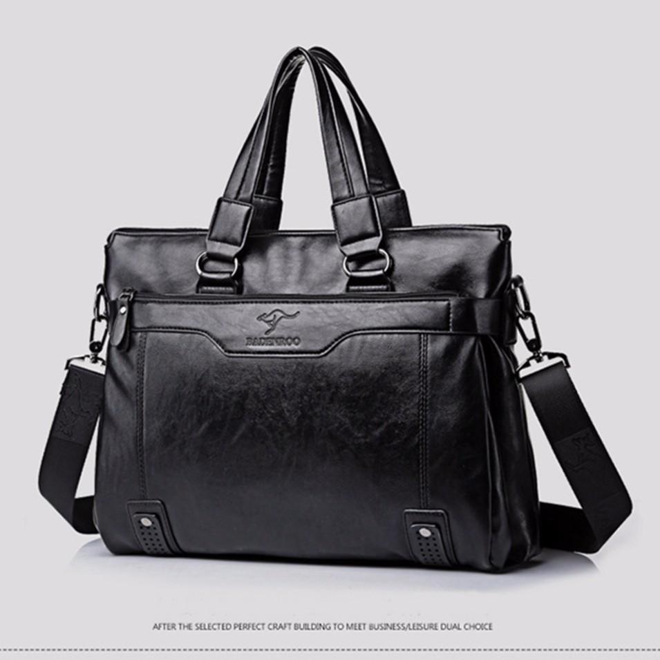 Túi xách nam Badenroo màu đen kèm ví cùng màu TX9121