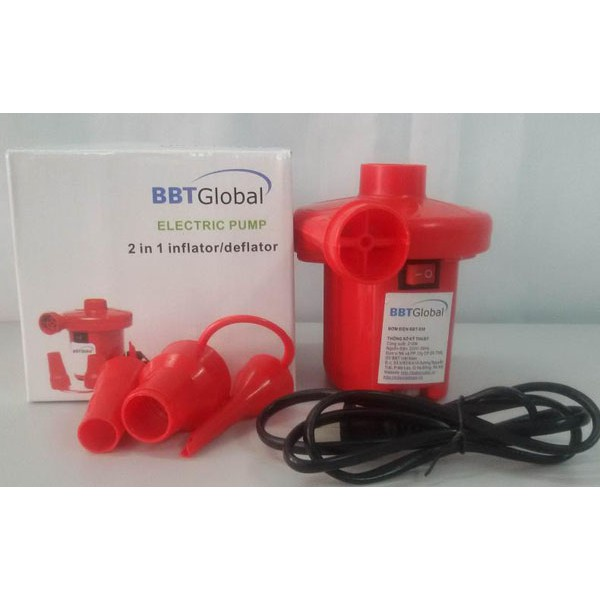 Bơm điện BBT Global 210w BBT838