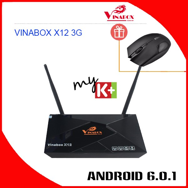 Android Tivi VINABOX X12
