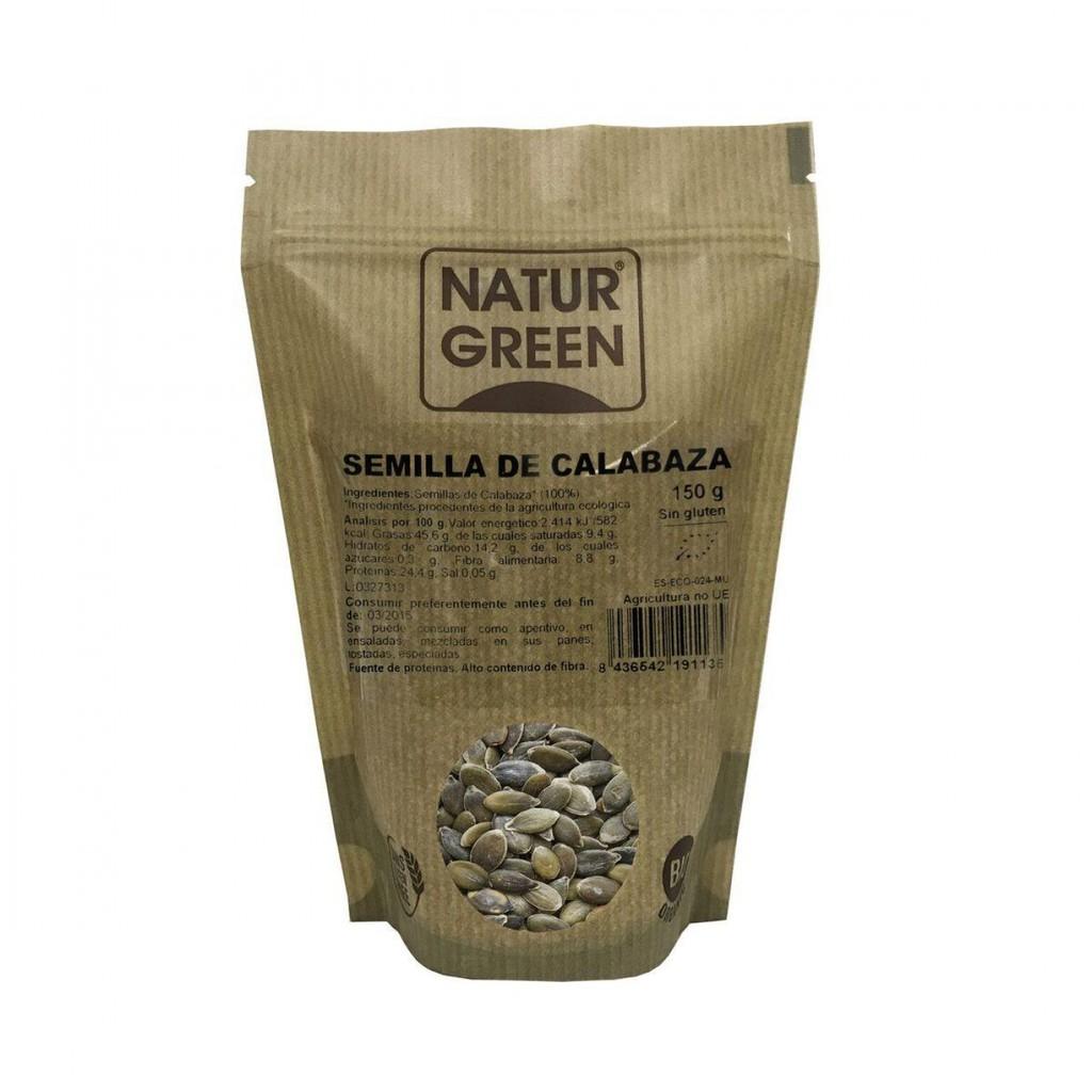 Hạt bí hữu cơ Natur Green