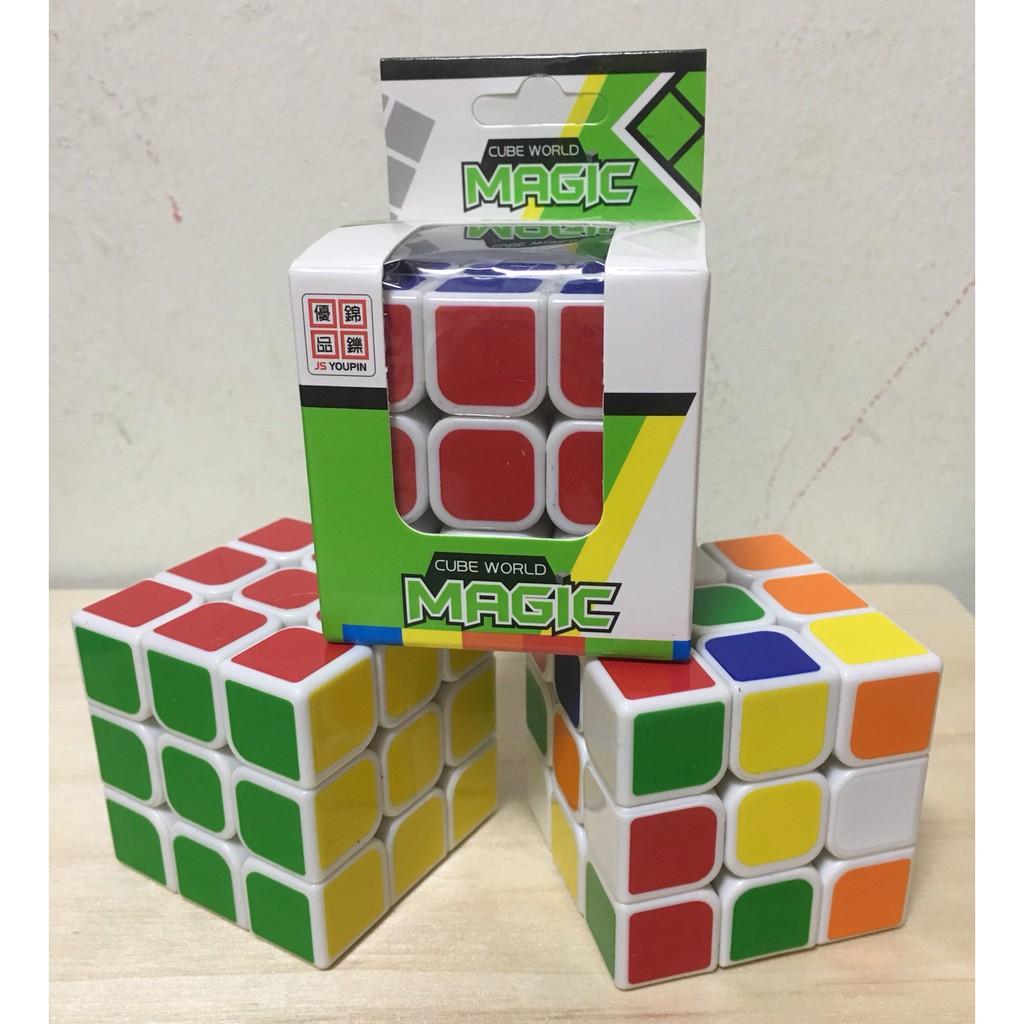 Đồ Chơi Phát Triển Kỹ Năng Rubik 3x3x3 Cao Cấp Đẹp, Xoay Trơn, Không Rít, Độ Bền Cao