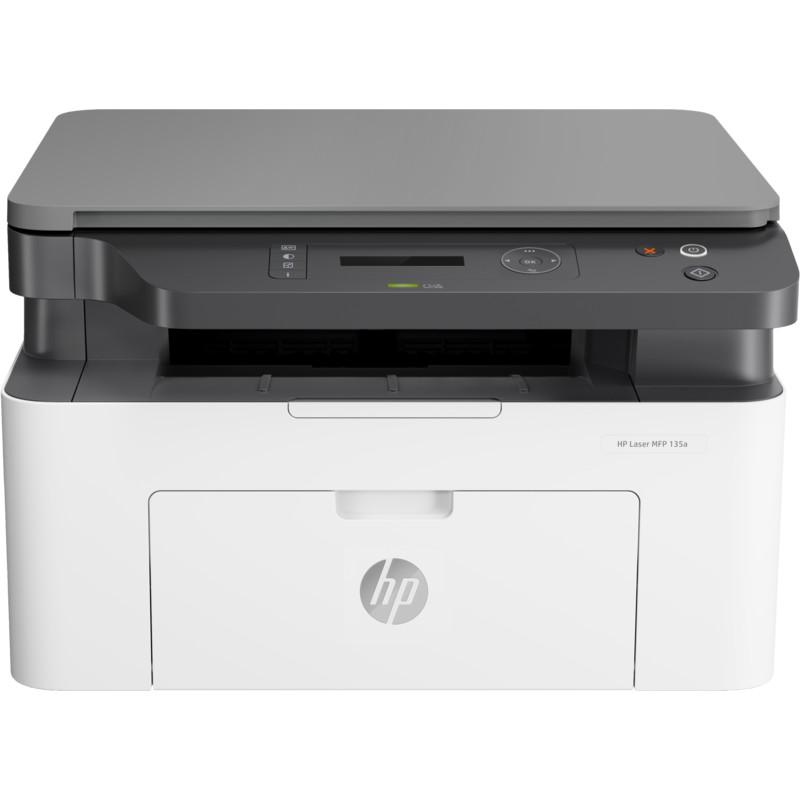 [Mã ELHPAPR giảm 5% đơn 100K] Máy in đa năng trắng đen HP LaserJet MFP 135a¬_4ZB82A – Hàng chính hãng
