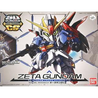 Mô hình lắp ráp SD Gundam Cross Silhouette Zeta Gundam (SD)