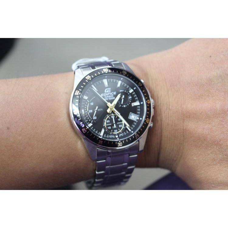 Đồng hồ EDIFICE chính hãng Casio Anh Khuê EFV-540D-1A9VUDF