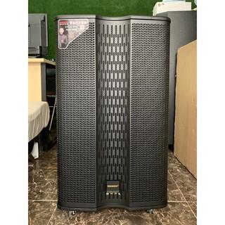 Loa kéo karaoke di động Temeisheng GD15-27S, Loa thùng gỗ 4 tấc hát karaoke ngoài trời + Tặng 2 micro lọc âm giảm hú thumbnail