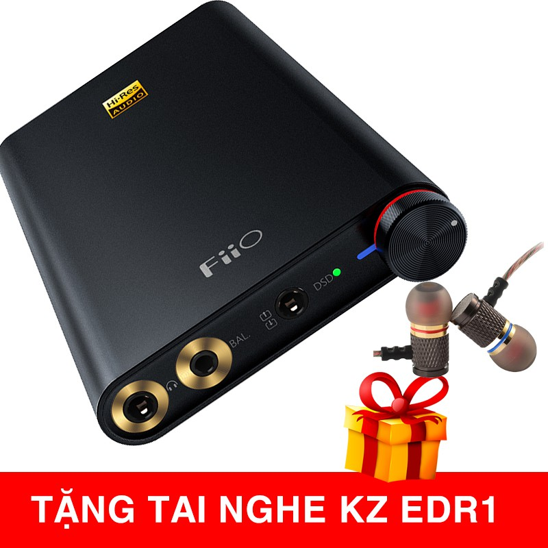 Bộ tăng âm di động AMP / DAC FIIO Q1 GEN 2 (FIIO Q1 MK II)