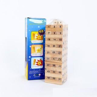 Đồ Chơi Rút Gỗ Wish Toy Cho Bé (54 thanh) _HOT