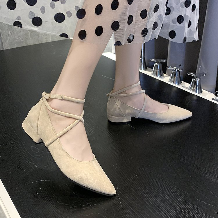 Giày Lười Đế Bằng Cho Nữ