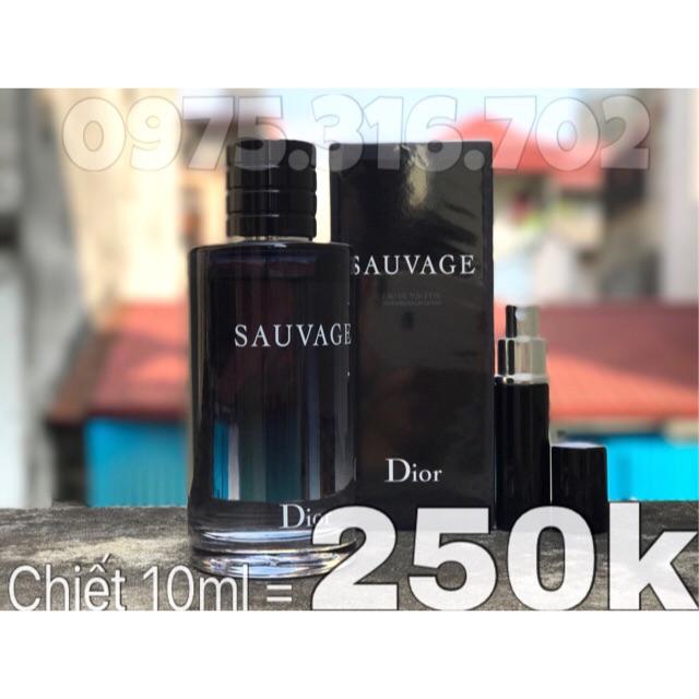 Chiết 10ml nước hoa Dior Sauvage - 2606222 , 29949568 , 322_29949568 , 250000 , Chiet-10ml-nuoc-hoa-Dior-Sauvage-322_29949568 , shopee.vn , Chiết 10ml nước hoa Dior Sauvage