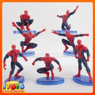 7 Mô hình SpiderMan dùng trưng bày hoặc làm quà tặng – ITOYS