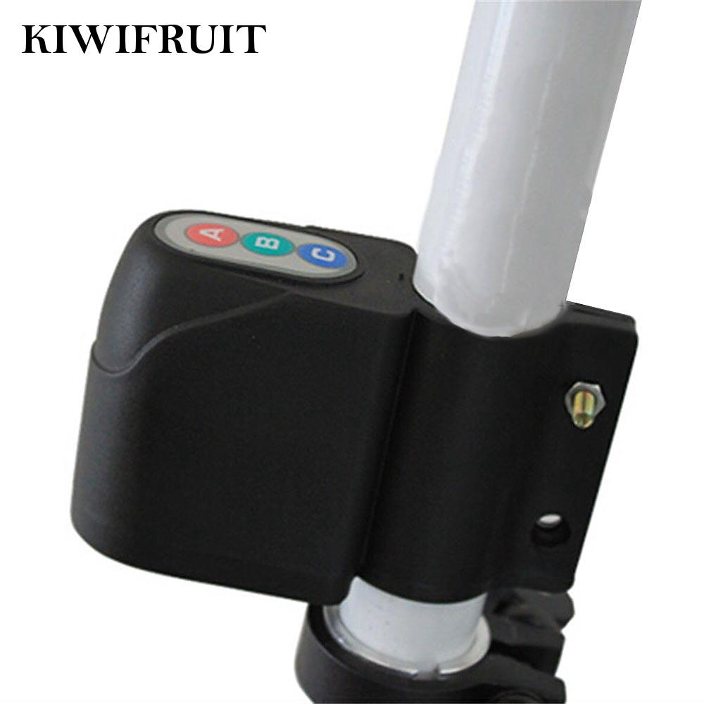 Bicycle Alarm Anti Theft Equipment ABC 4 Password 9V Lock Sound Security Acce