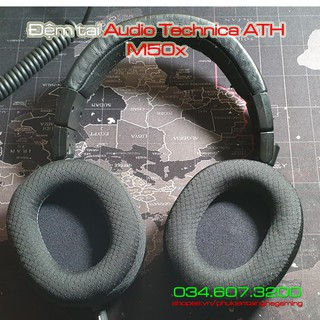 Đệm tai Audio Technica ATH M50X