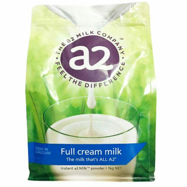 Sữa tươi nguyên kem dạng bột A2 của New Ze