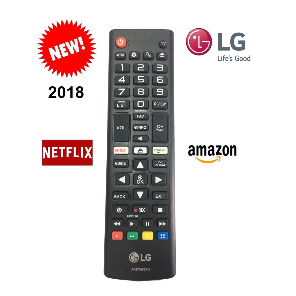REMOTE ĐIỀU KHIỂN TIVI LG SMART NGẮN 2018 NETFLIX-AMAZON