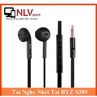 Tai Nghe Nhét Tai BYZ S389 (Đen Trắng)- Âm Thanh Chất Lương